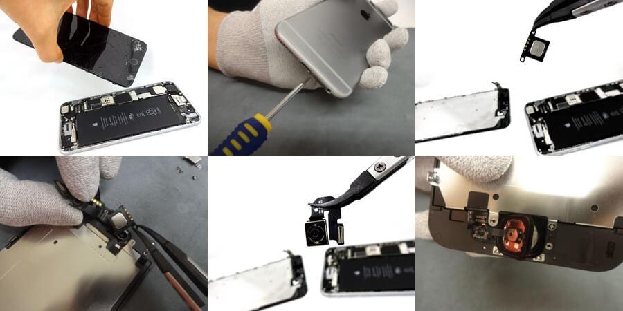 iPhone修理対応機種&箇所