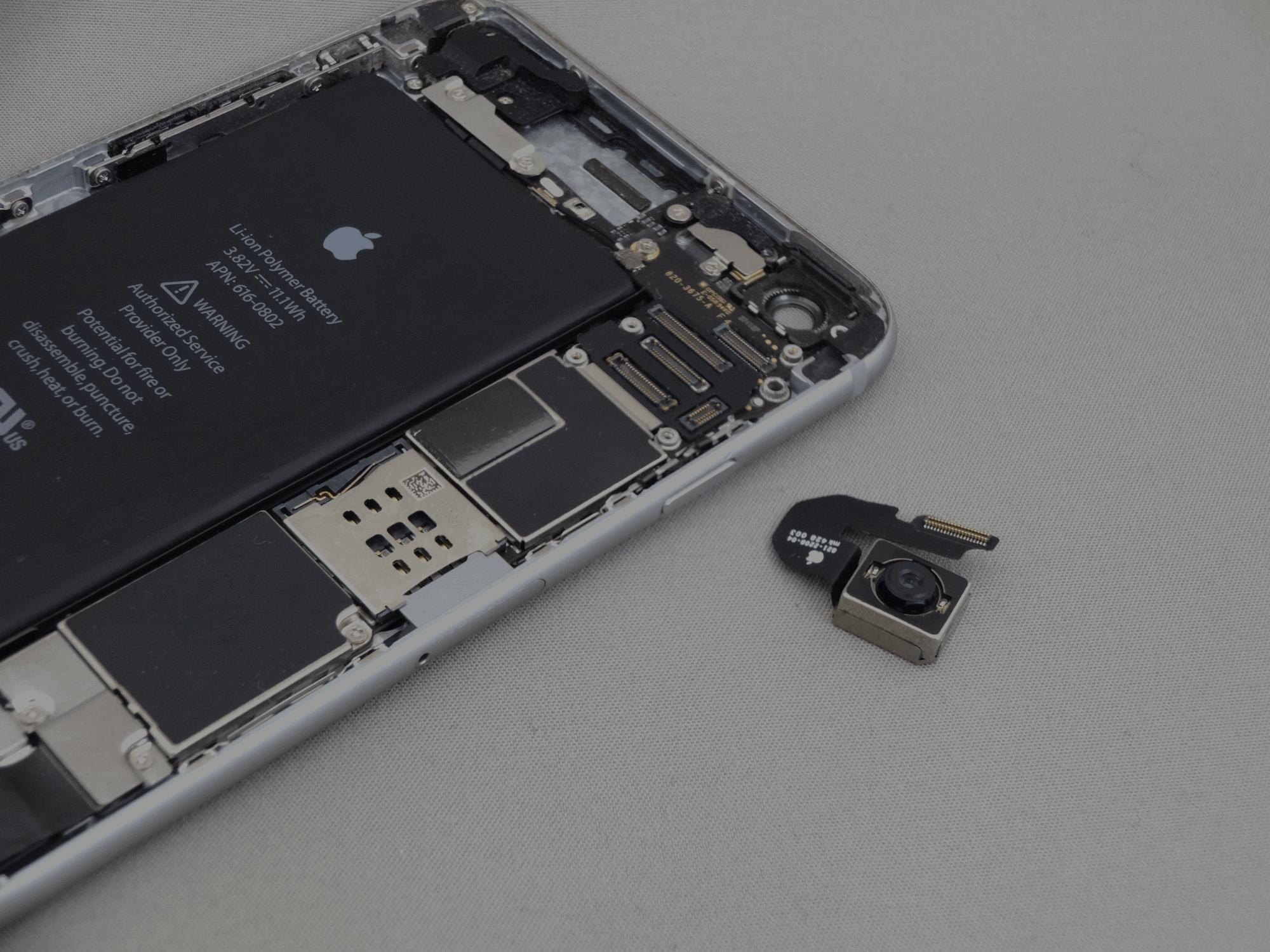 iPhone6Plus 背面カメラ 修理