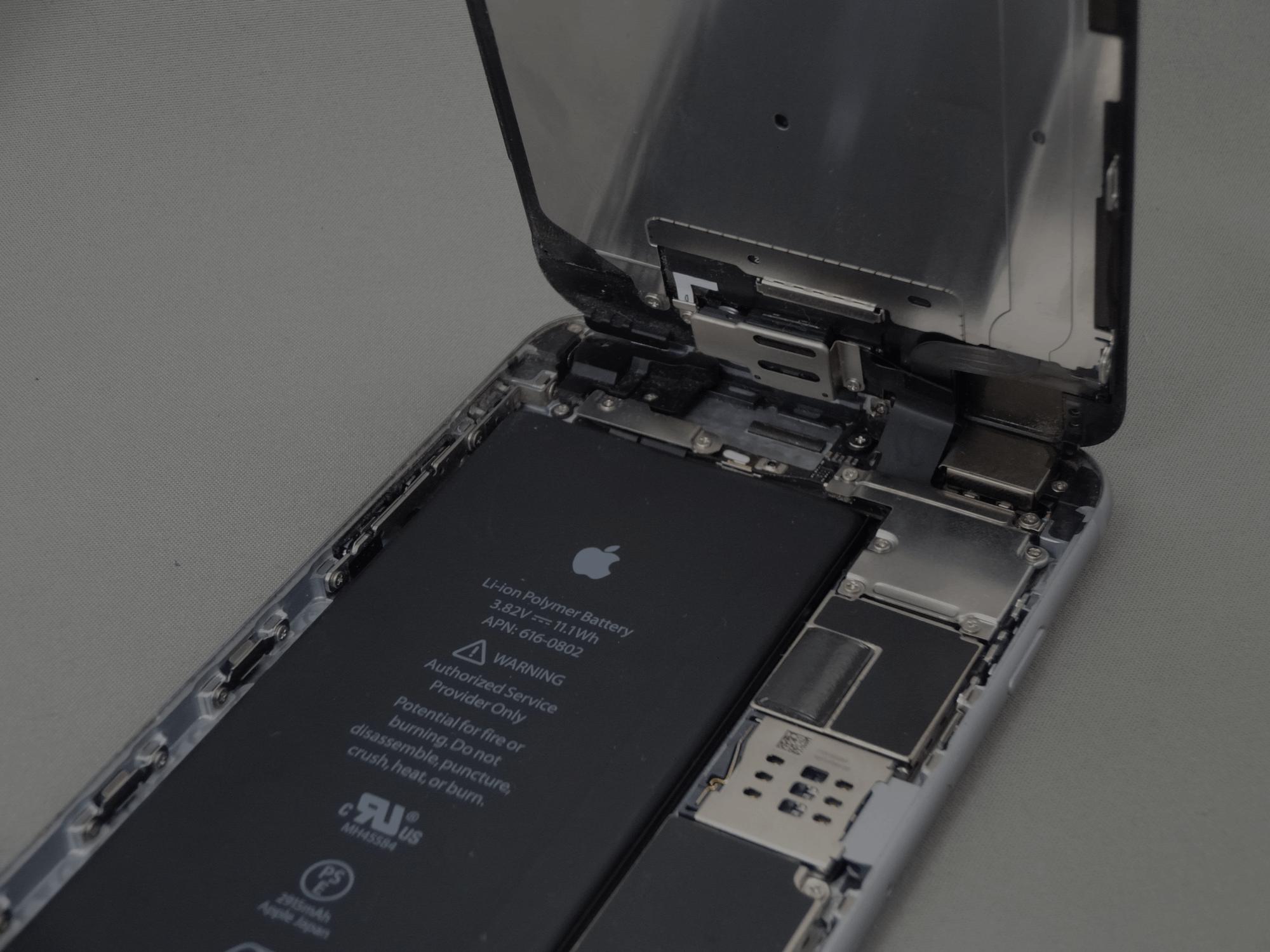 iPhone6Plus 分解手順
