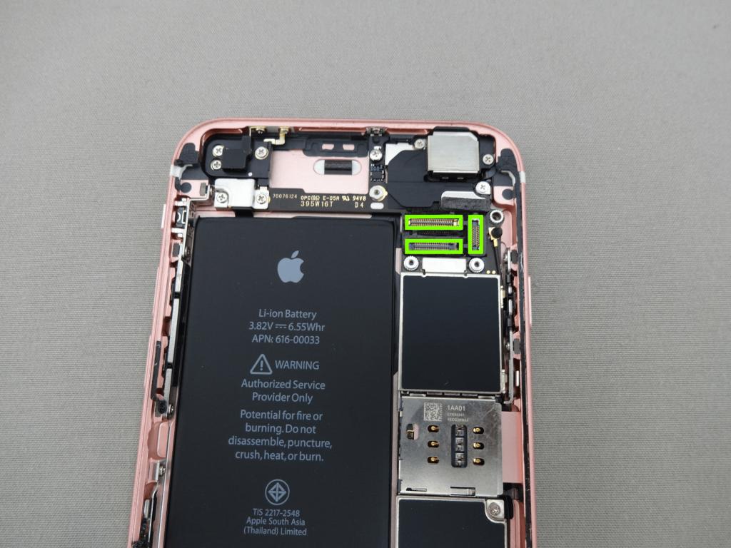iPhone6s フロントパネル コネクタ