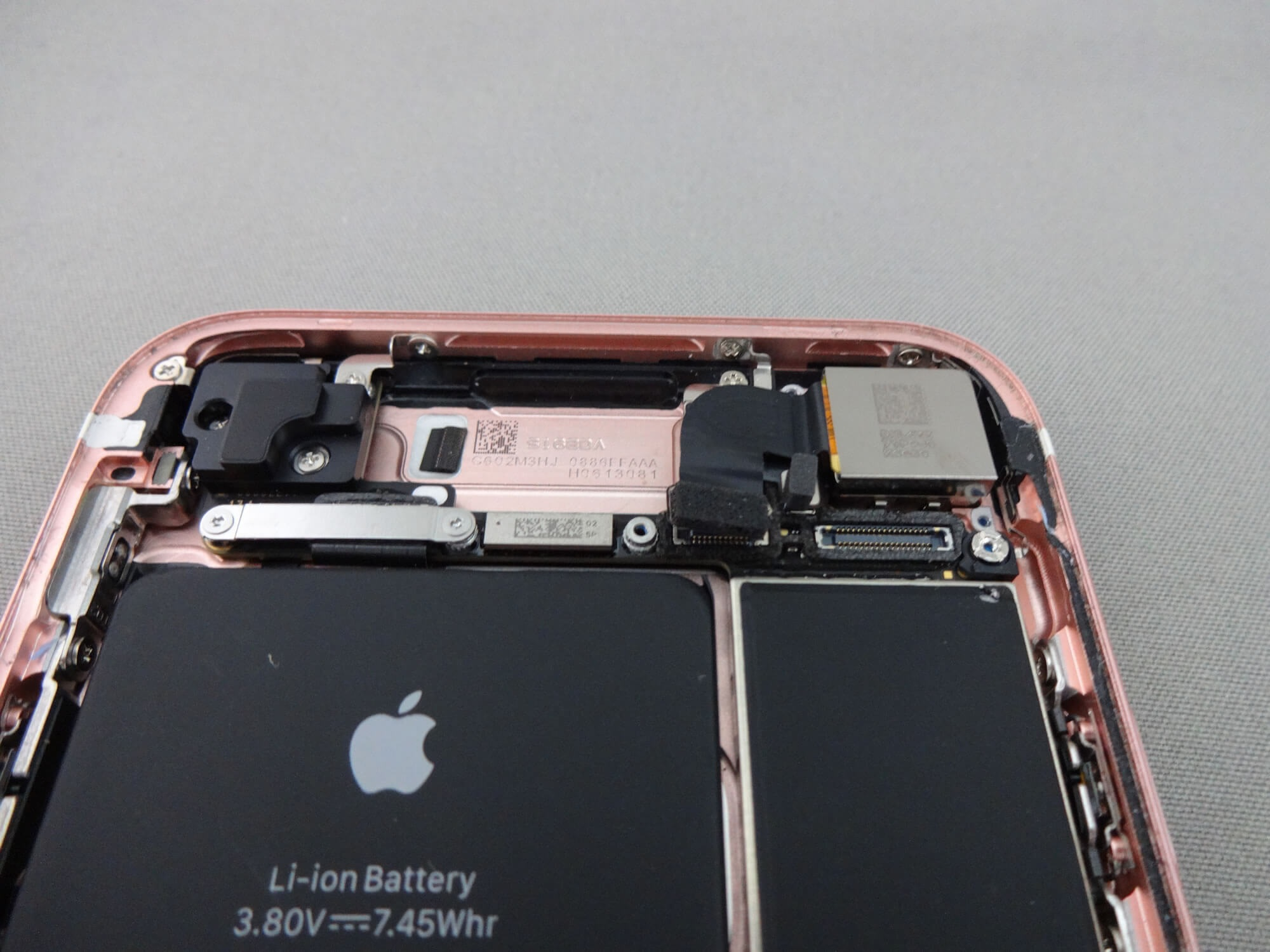 iPhone7 コネクタ 取り外し
