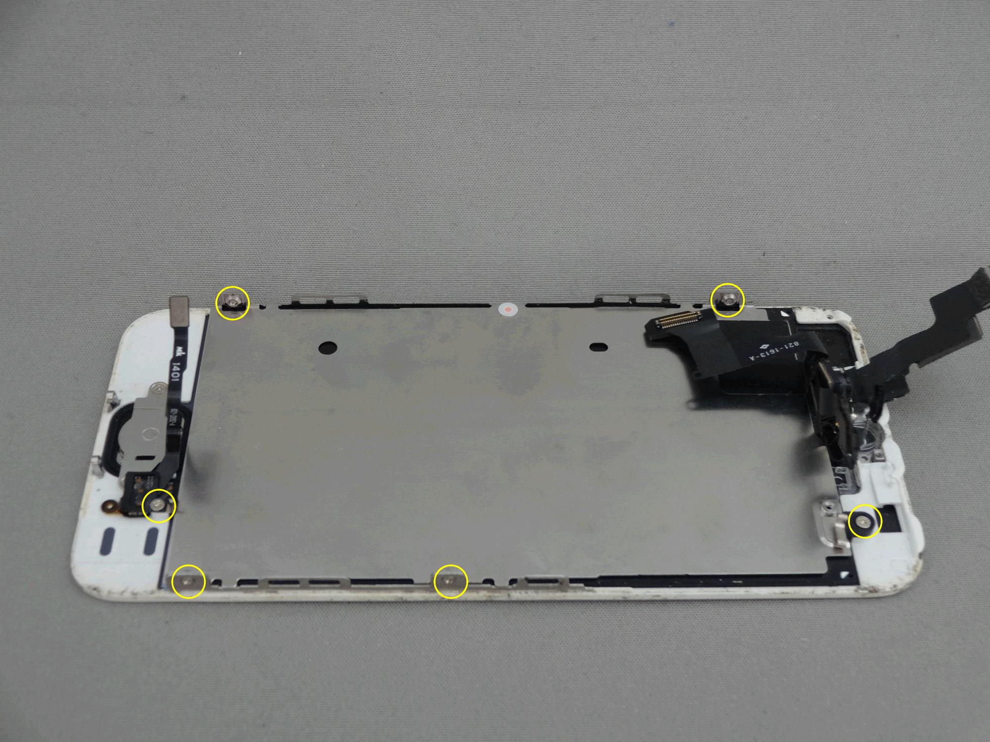 5s 液晶保護プレート