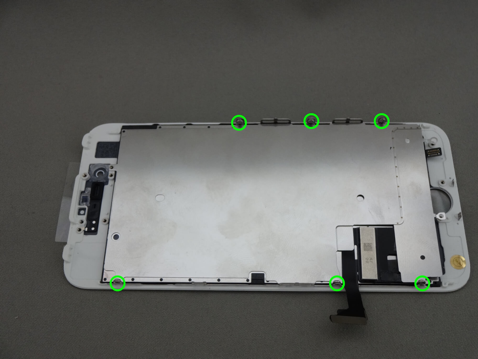 iPhone7 液晶保護プレート