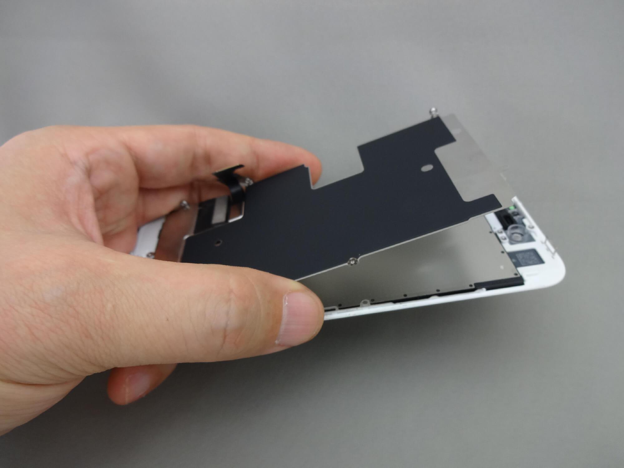 iPhone8 プレート
