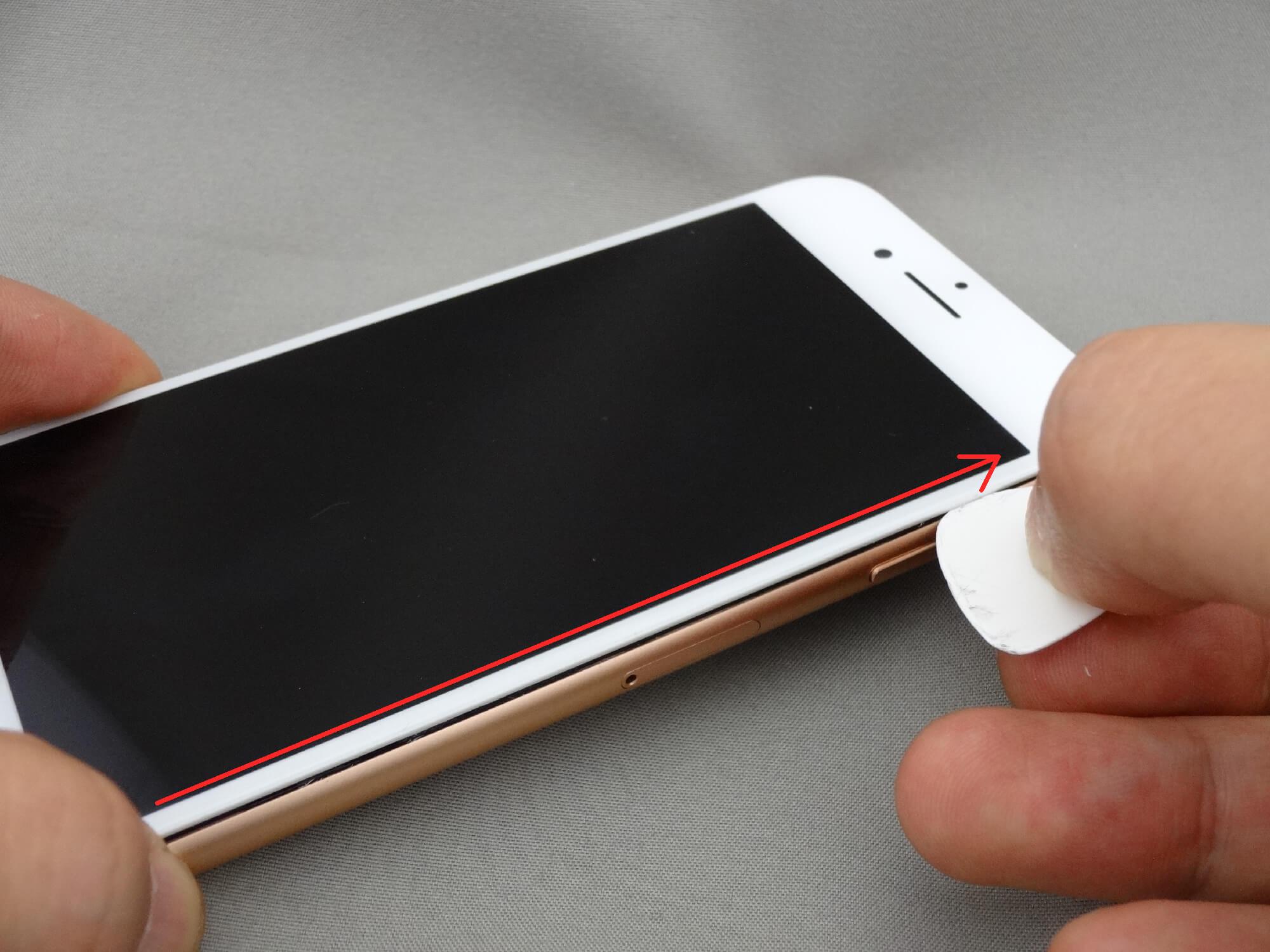 iPhone8 修理 液晶画面