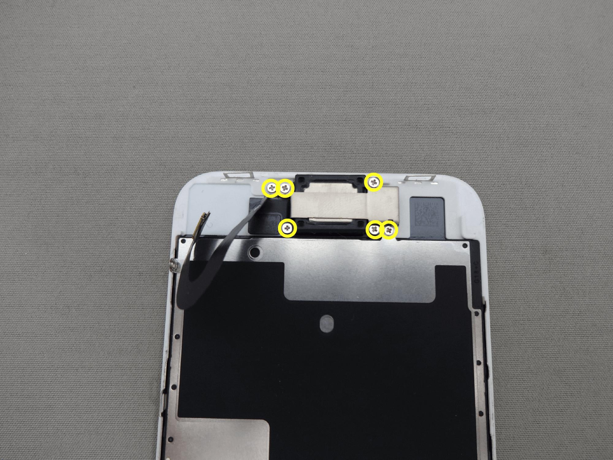 iPhone8 フロントカメラ 固定板
