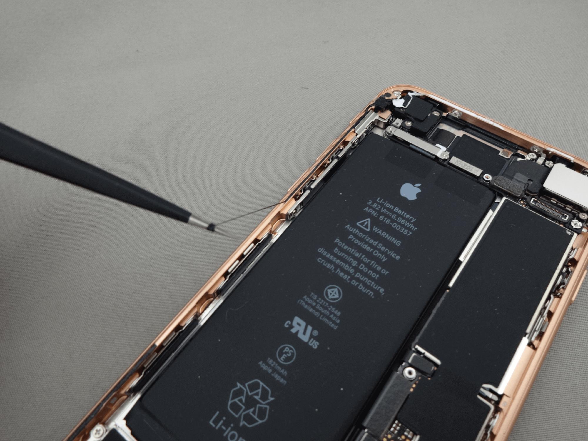 iPhone8 防水パッキンシール