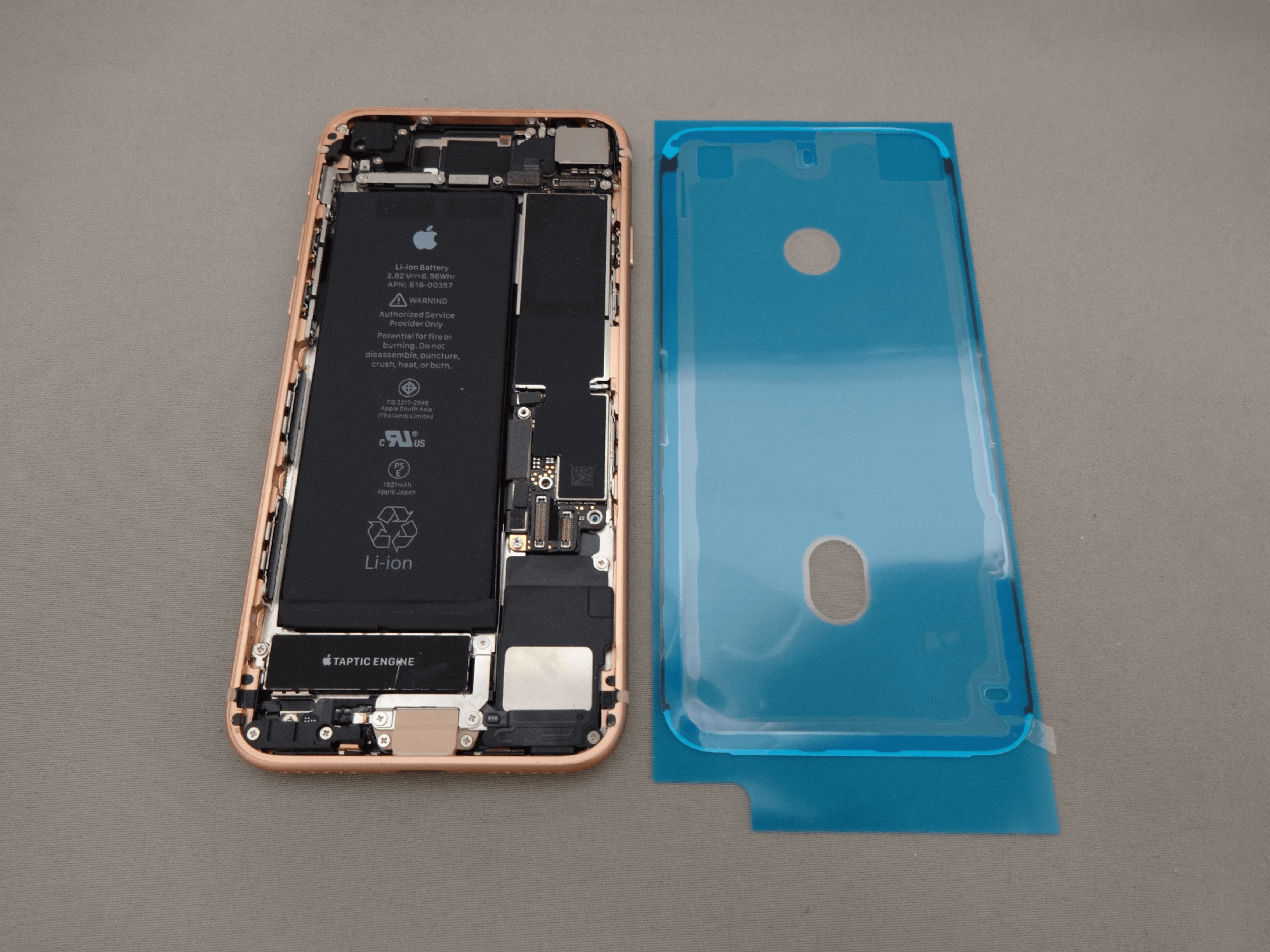 iPhone8 防水シール