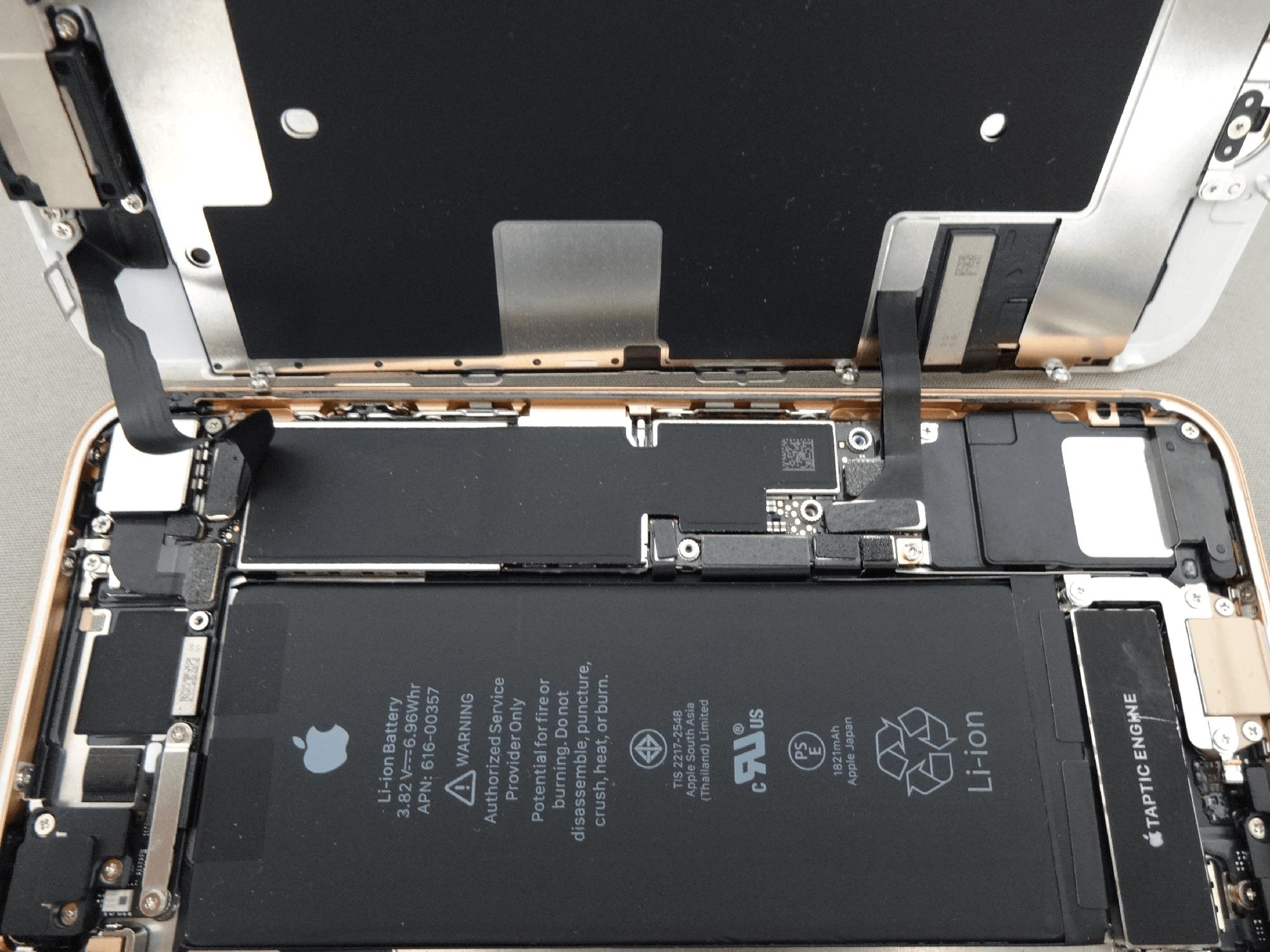 iPhone8 本体 接続