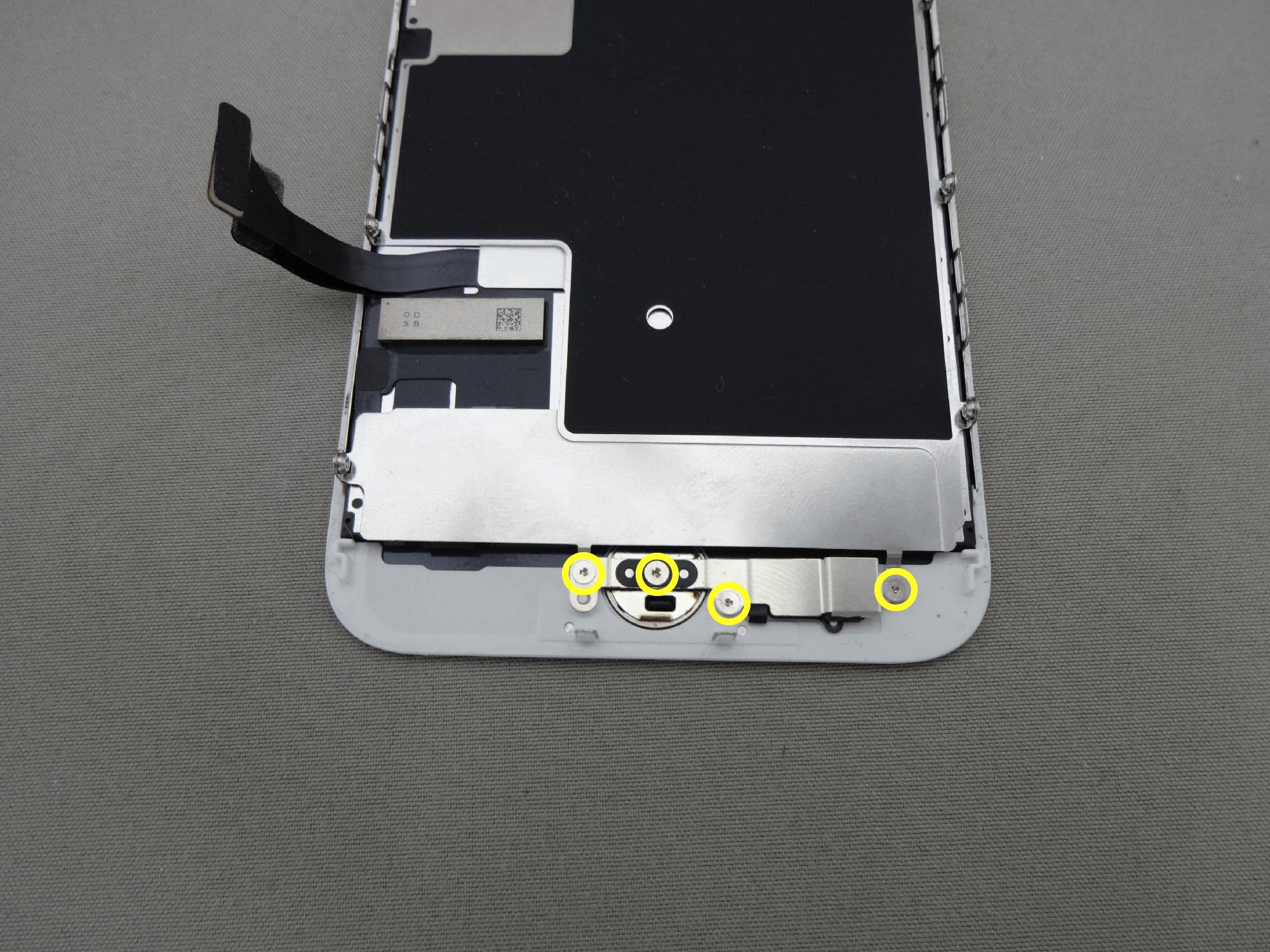 iPhone8 ホームボタン 固定プレート