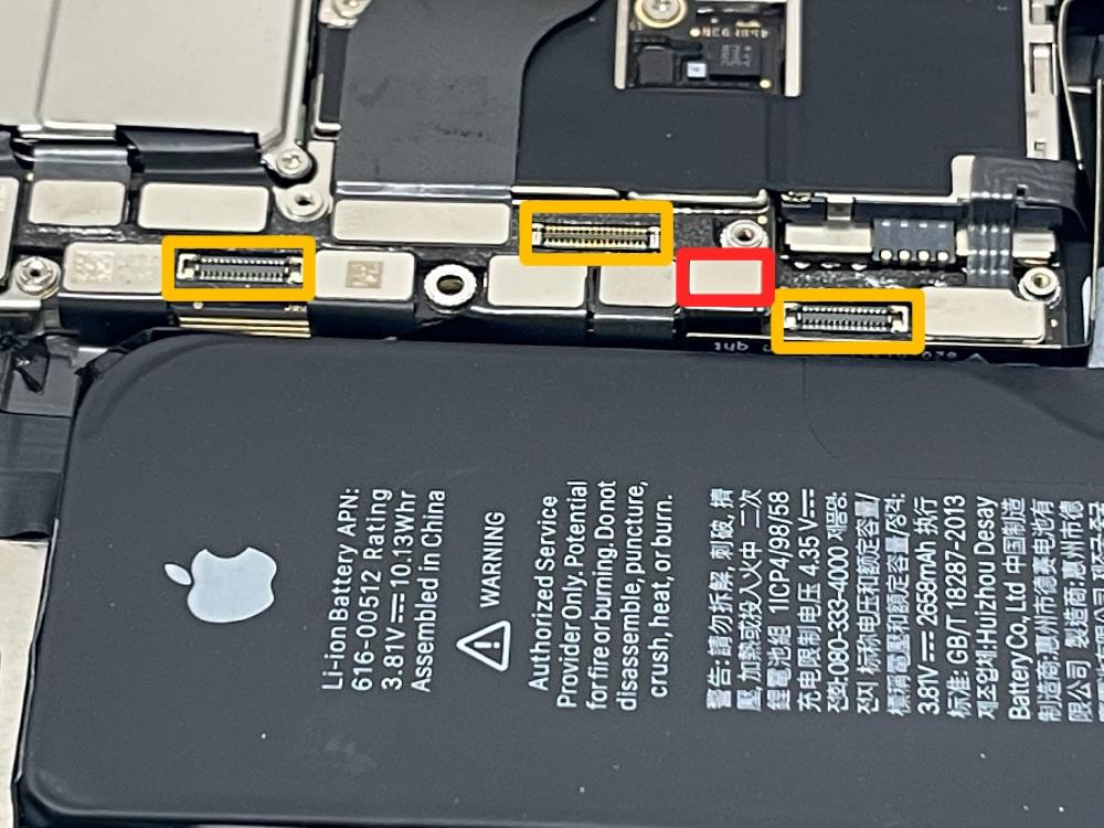iPhoneXs コネクタ